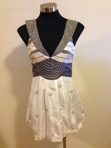 Milk and Honey by Ruby Rose Silk Bubble Dress
