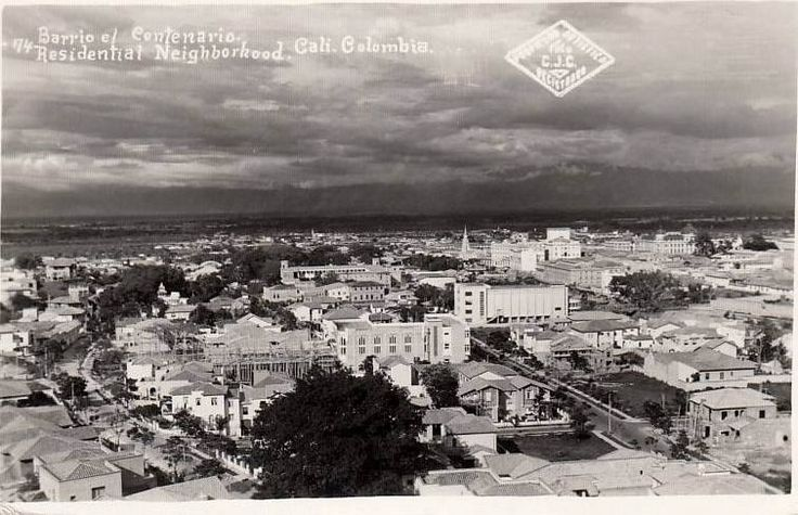 Ramon Chaux Barrio Centenario. FOTOS ANTIGUAS SANTIGO DE CALI