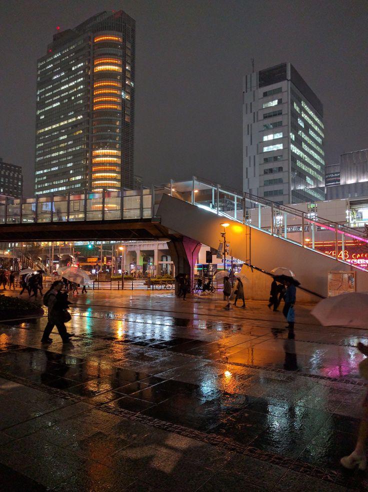 Rainy night in Akihabara