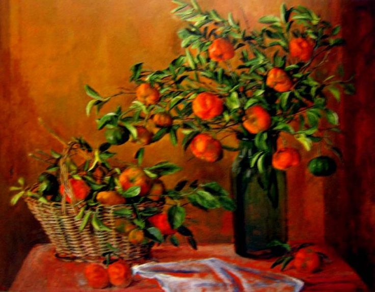 Still Life with Tangerines,  Margret OLLEY