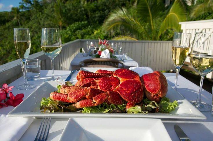 NIUE - Uga 4 dinner / Matavai resort