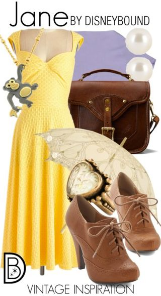 The yellow  dress is adorable