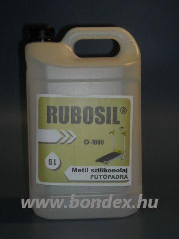 Futópad szilikon kenőolaj Rubosil M-1000 5 liter