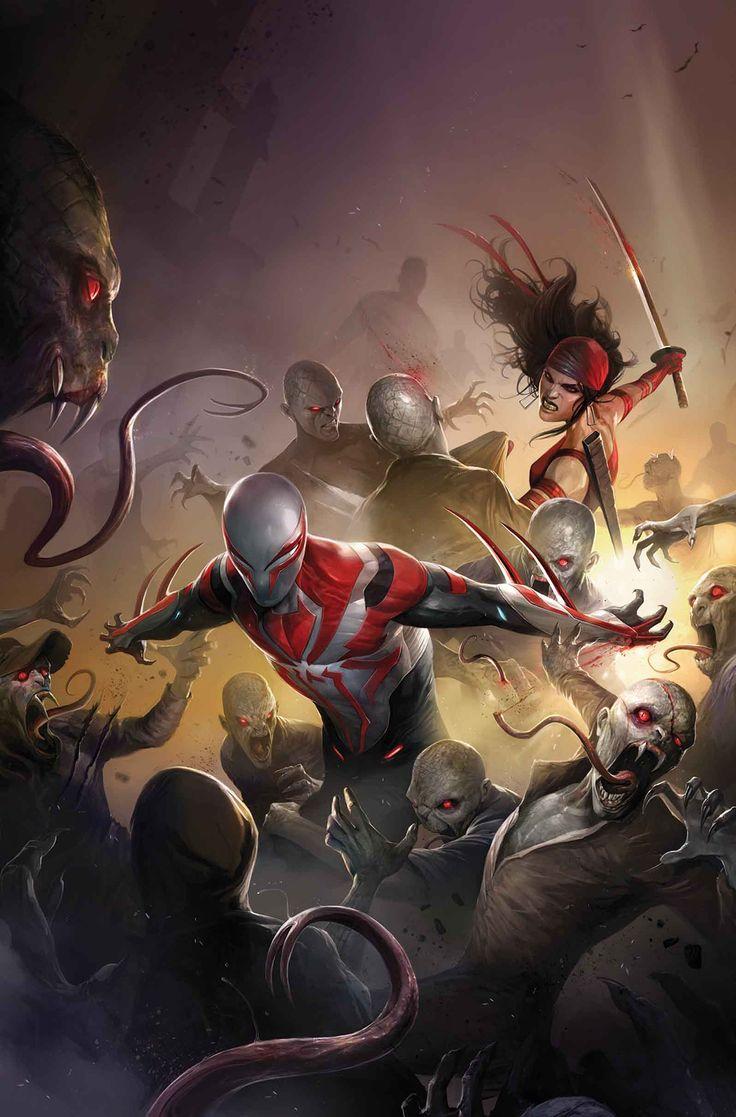 Spider-Man 2099 #19 - Francesco Mattina