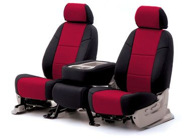 Custom Seat Covers Neoprene for 2014 Jeep Compass All Black