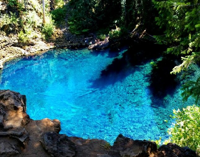 Tamolitch (Blue) Pool - McKenzie River - Oregon