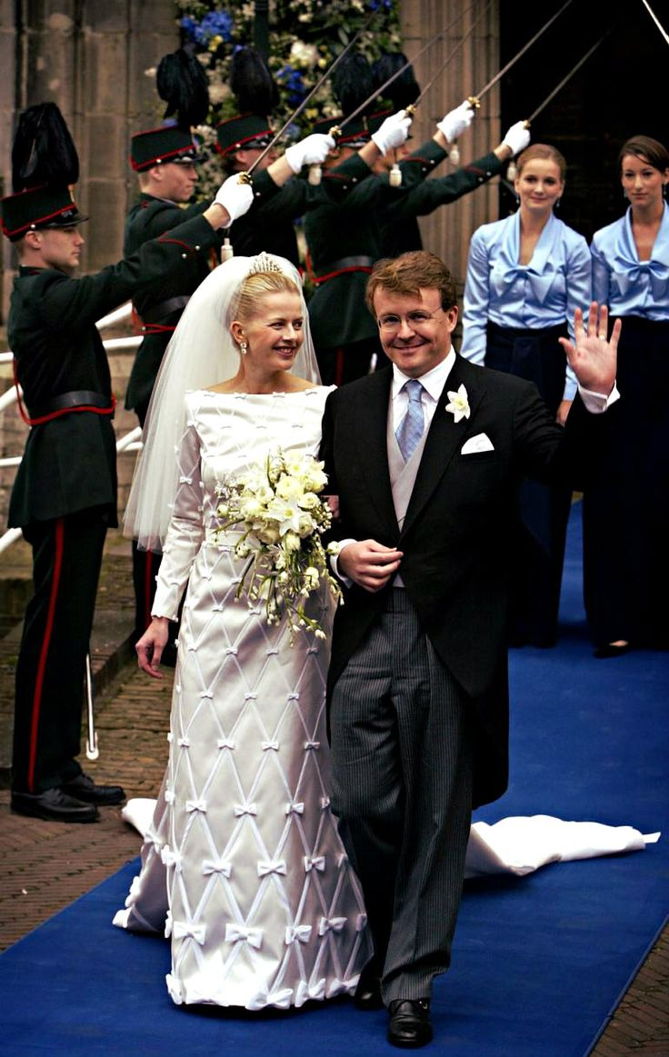 4 April 2004 - HRH Prince Johan-Friso of the Netherlands, Prince of Orange-Nassau, Jonkheer van Amsberg & Miss Mabel Martine Wisse Smit