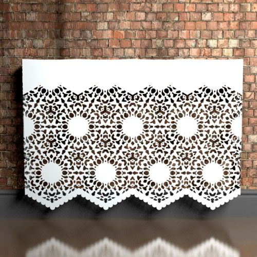 Nottingham Lace Heavy Braided Radiator Covers