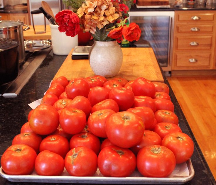 You don't have to be Italian to love canning beefsteak tomatoes. For me, it feels primal to harvest and put up a bushel of tomatoes for the winter.
