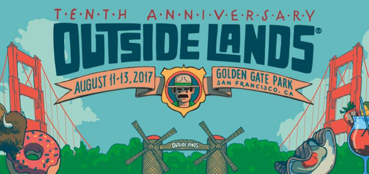 The 10th Anniversary of Outside Lands: A Music Festival in the Golden Gate of San Francisco   #BerkeleyEvent