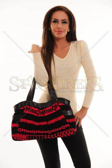 Geanta MissQ Warm Couture Black