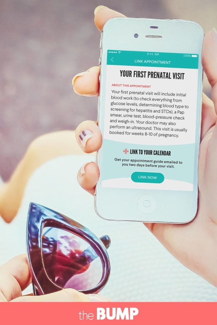 A new way for pregnant women to schedule and prepare for every prenatal doctors appointment in The Bump app.