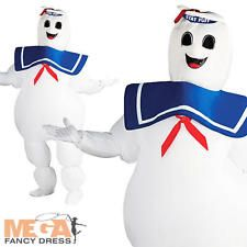 Ghostbusters Puft Marshmallow Halloween Inflatable Adults Fancy Dress Costume
