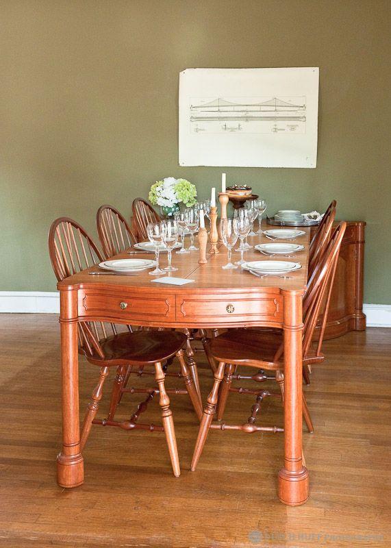 Buffet Telescoping Table Custom WoodworkingWood WorkingBaroque FurnitureDining TableDining RoomQueen AnneBuffetOrganize