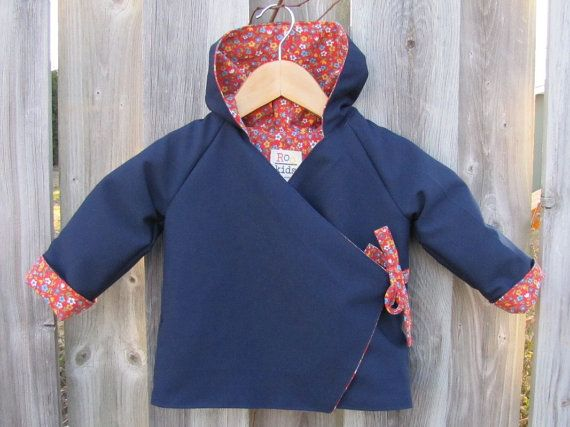 Children's Hoodie Jacket Size 2 by ReneeBou on Etsy, $49.95