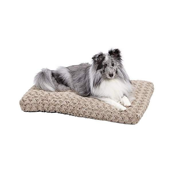 Midwest Homes For Pets Deluxe Pet Beds Super Plush Dog Cat Beds Ideal For Dog Crates Machine Wash Dryer Friendly W 1 Year Warranty Pet Care Pet Be