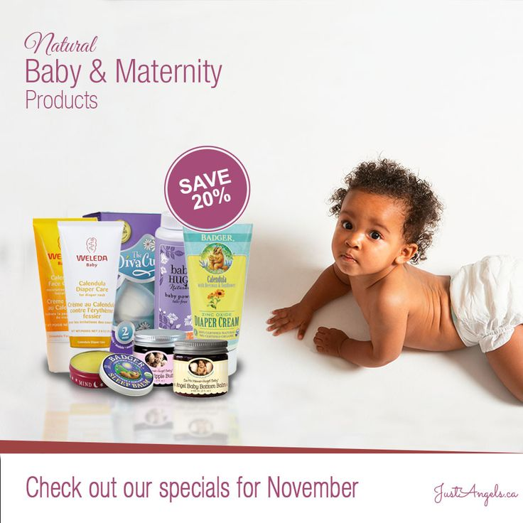 Save 20% on natural baby & maternity products during the month of November 2015 #Natural #Baby #Canada