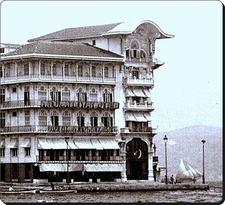 1954 senesinde yanan Tarabya / Tokatlıyan Oteli - 1930'lar ...