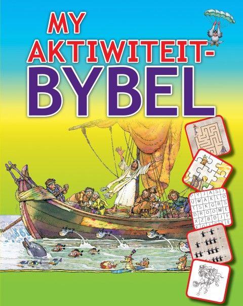 My Aktiwiteit-Bybel (Sagteband) - Kinders - Boeke