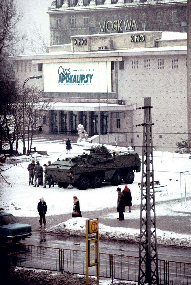 Warszawa, Stan wojenny. Kino Moskwa