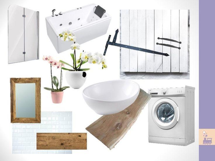 Projekt rustykalnej łazienki w mieszkaniu - zapraszamy!    #łazienka #bathroom #rustic