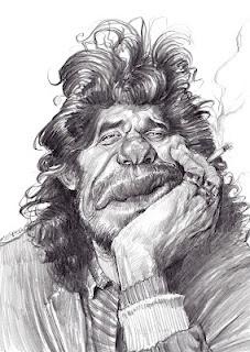 Artist:Jan Op De Beeck Caricature:  Camaron de la Isla
