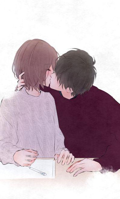 Quando te beijo eu não penso em mais nada além de Você amor.
