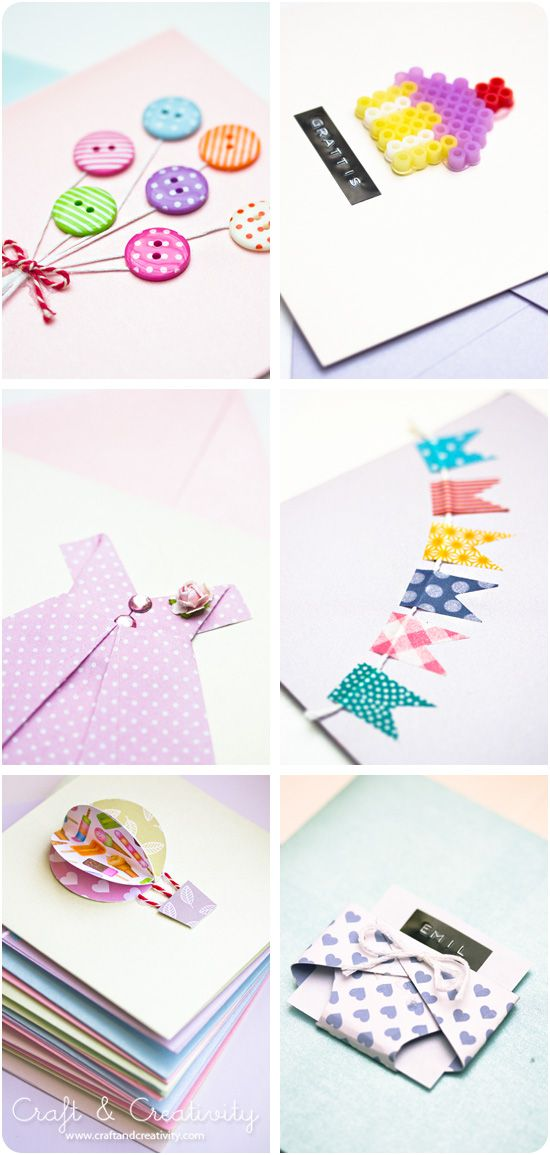 Make your own cards - by Craft & Creativity