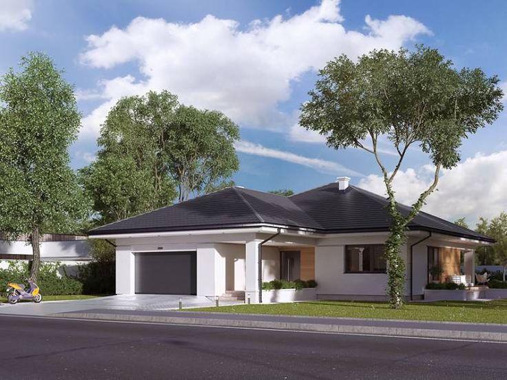 moderne Häuser von BIURO PROJEKTOWE MTM STYL