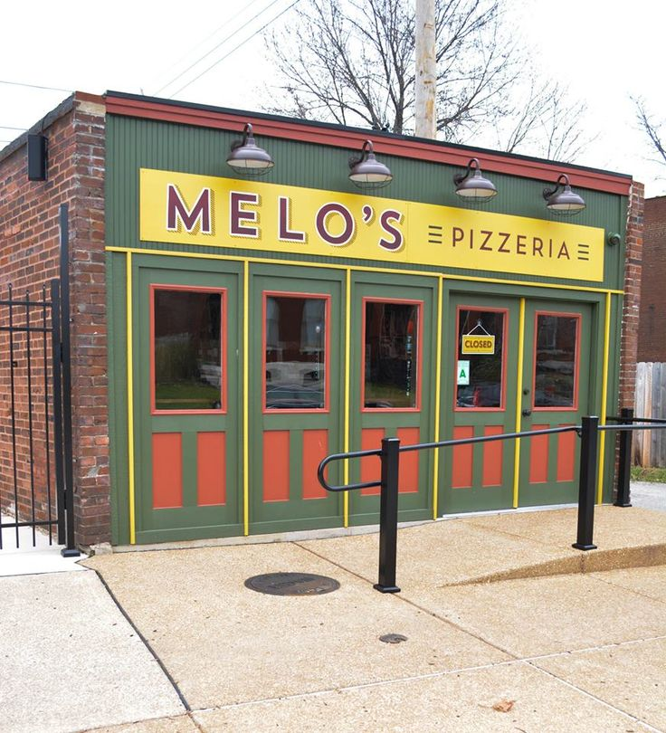 Melo's Pizzeria  - Pizza - Delight in a cozy pizza joint offering a concise menu of wood-fired options in snug, brick-walled surrounds at Melo's