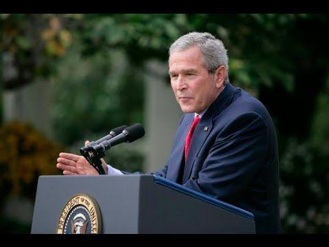 BUSH SLIPS UP - Bush Admits Explosives Used at World Trade Center 9/11 (Long Version) - YouTube
