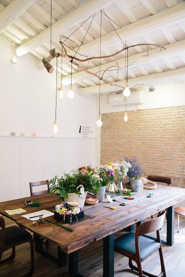 El taller de Coronas de flores de Elsa Yranzo » Kissandchips