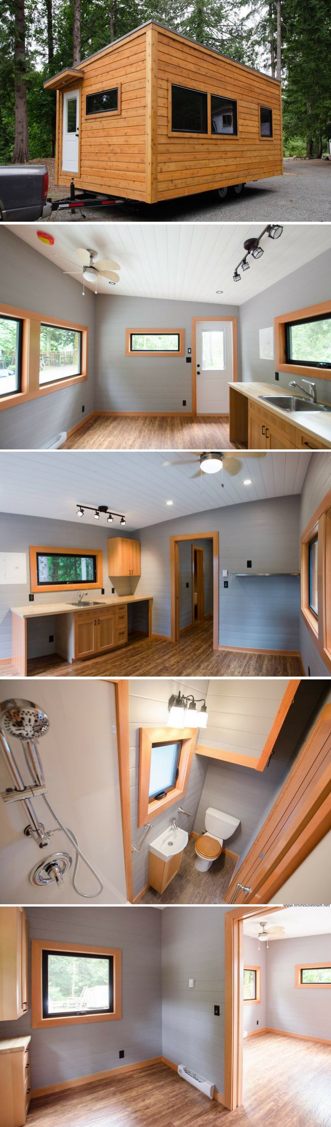 the ptarmigan a modern cabin on wheels from rewild tiny homes of nanaimo british columbia