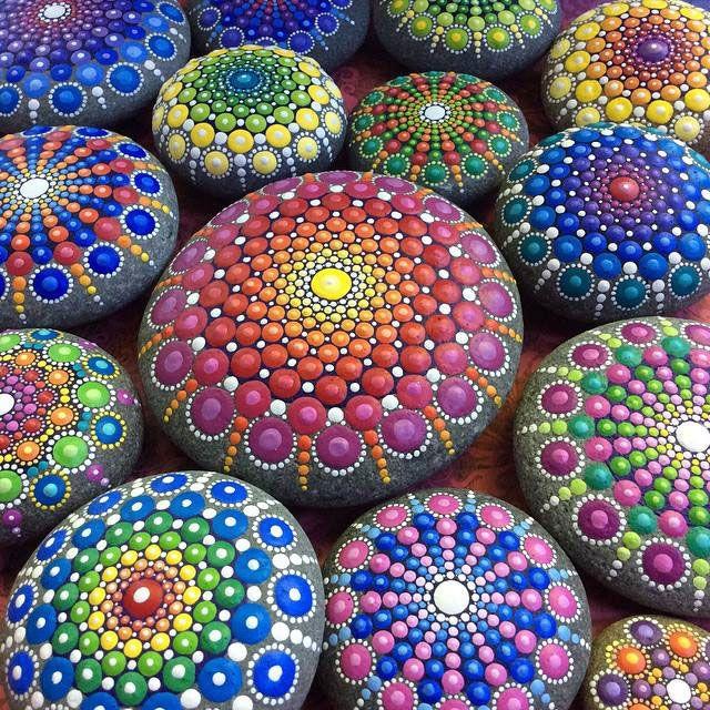 More beautiful mandalas by Elspeth McLean