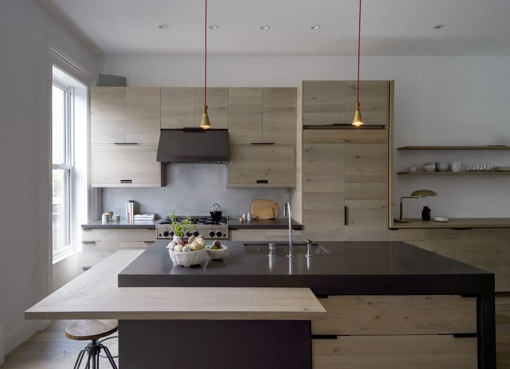 Brooklyn kitchen design with custom wood cabinets by Workstead, Matthew Williams photo | Remodelista
