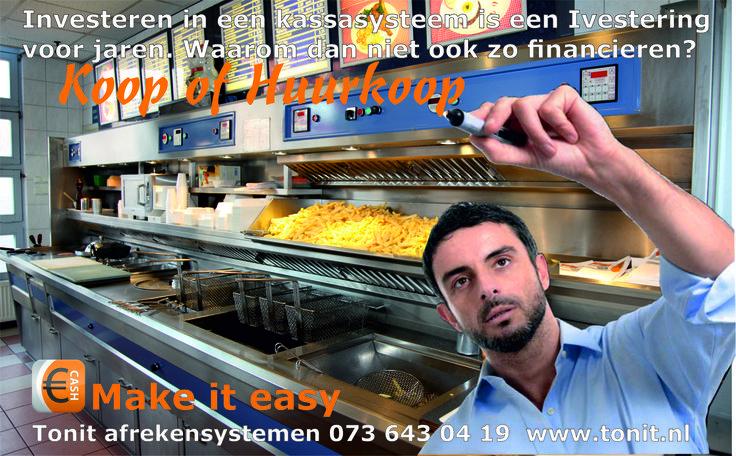 Horeca kassasysteem kopen of Huurkopen tonit geeft financiering ook voor beginnende Horeca ondernemers. #kassasystemen #kassasysteem #horeca #afrekensystemen #afrekensysteem
