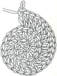 Schnecken Spirale häkeln: Brigitte Häkelschule – Sehr viele Anleitungen für H…