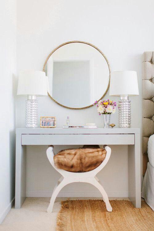 Bedside. 17 Best images about Vanity decorating  on Pinterest   Vanity area