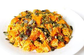 Recept: Pompoencouscous met zoete aardappel en wortel