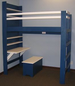 Kids Loft Bed - Youth Loft Beds - YouthBedLofts.com