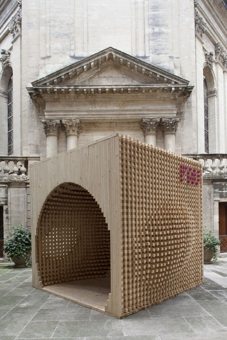 82 Best Images About Pavillons On Pinterest | Models, Architecture ... Holz Pavillon Wabenform