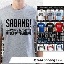 T-Shirt #MTMA #Sabang 1 CR