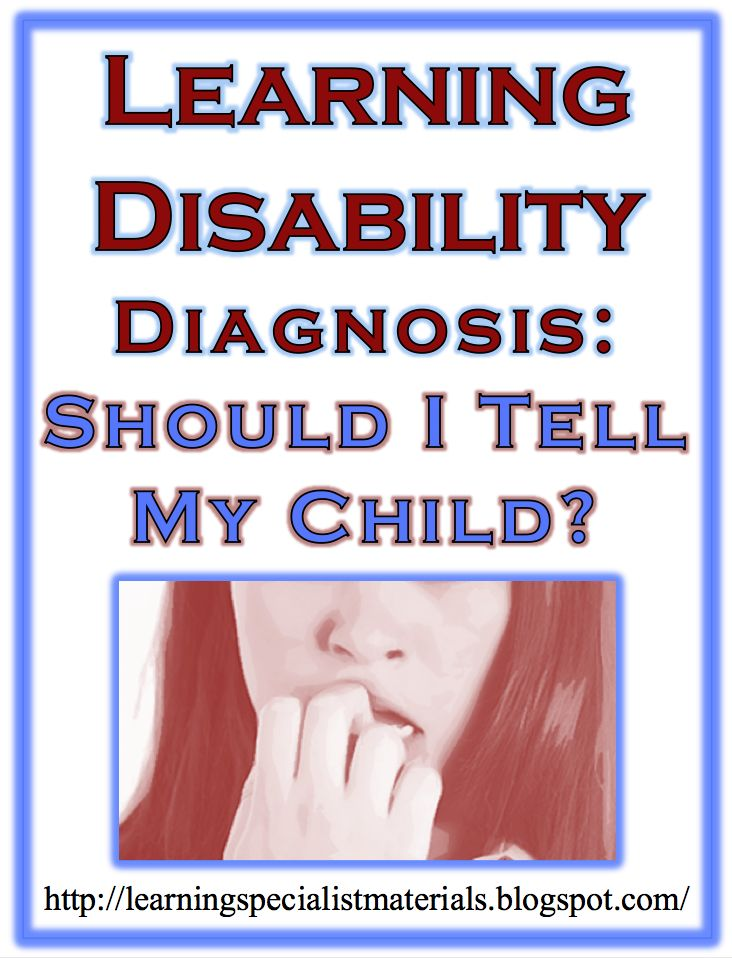 learning disabilities and children The american academy of pediatrics discusses children with learning diabilities, the various forms of learning disabilities and how to help view.