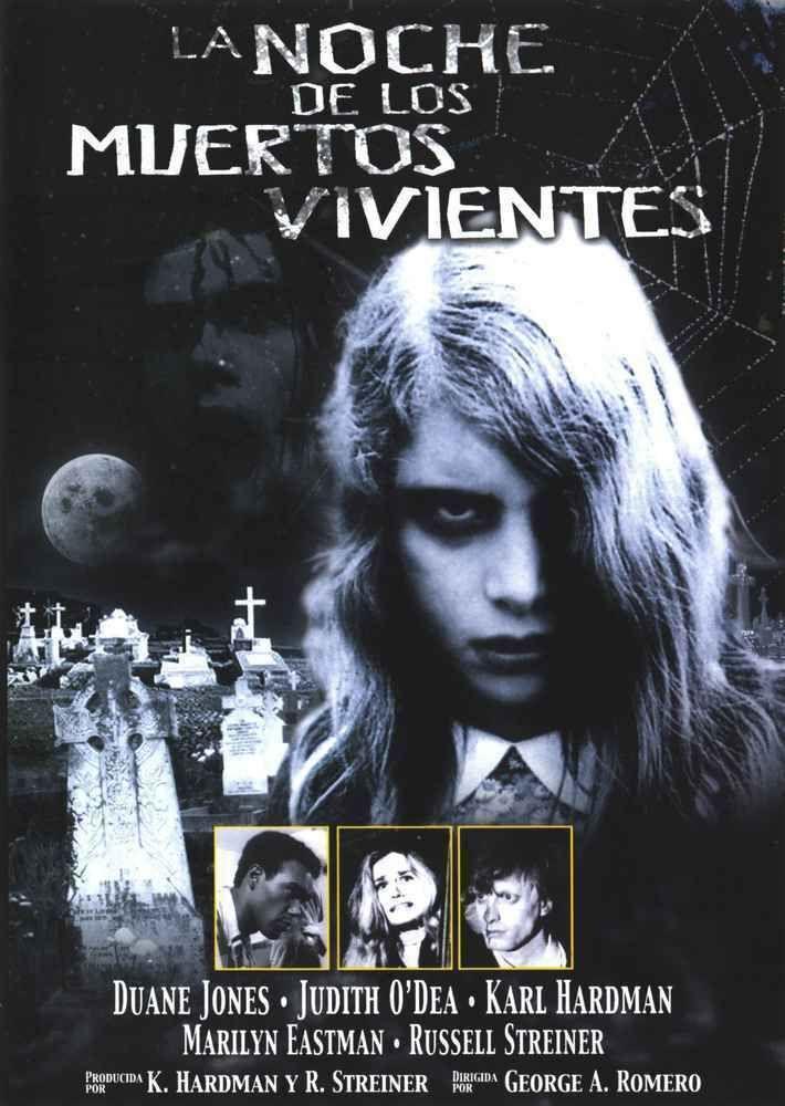 La Noche De Los Muertos Vivientes Dvd Muertos Vivientes Peliculas De Terror Muerte
