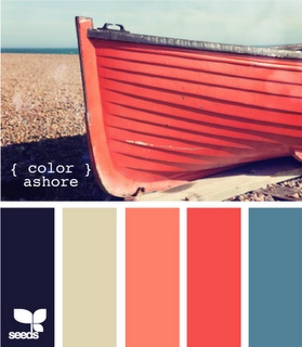 Colors for a beach house