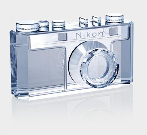 Nikon x SWAROVSKI 100th Anniversary Crystal Object New PSL w/serial No
