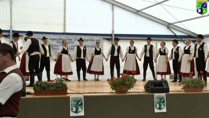 """IV. Landestreffen der Schwabenjugend """"FÜZES"""" Tanzgruppe Kleinturwall"""