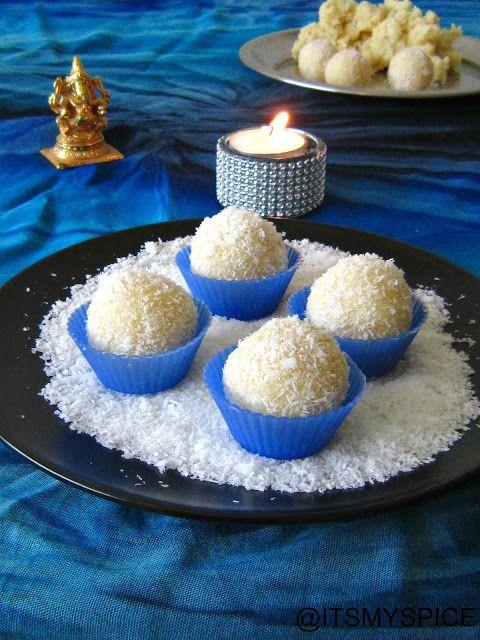 Superquick Coconut Ladoos