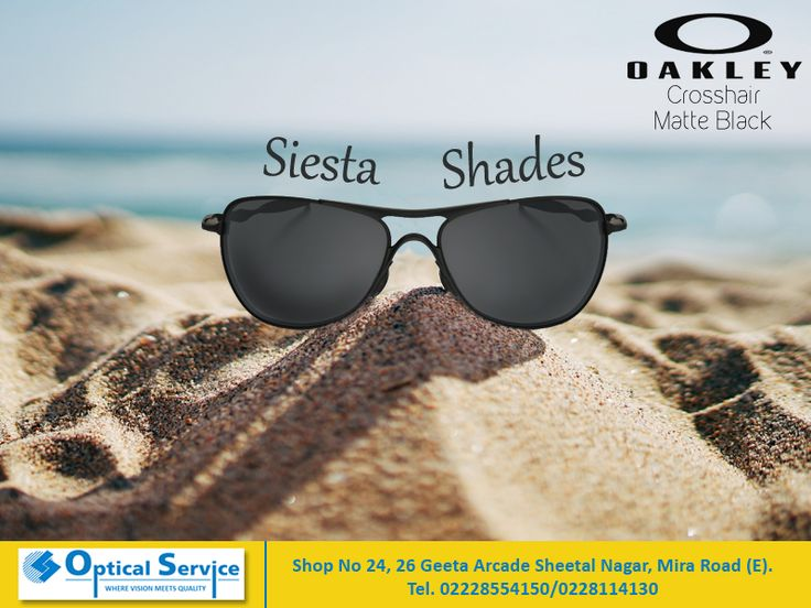 Don't let harsh sunlight ruin your beach siesta! Oakley Shades, stylish eye-wear for a perfect holiday!  #shades #beachtime #glares #siesta #relaxation #oakley #eyewear #opticalservice