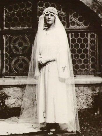 Maria von Trapp's wedding day in Salzburg, 1927
